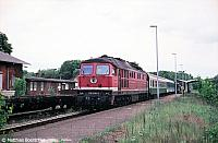 232 240-2 in Spremberg Hbf am 15.05.98.